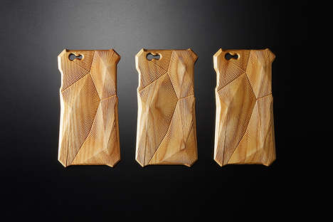 Sound-Improving Phone Protectors - The Hibiki Phone Case by +Simplism Reduces Noise Vibrations
