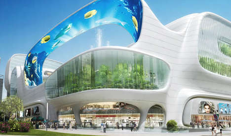 Aquatic Shopping Malls - This China Retail Center Will Feature an Aquarium and Entertainment Space