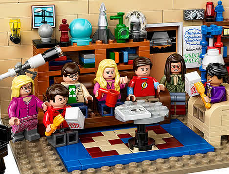 Sitcom Building Block Sets - The Big Bang Theory LEGO Kit is Made for Nerdy Fans