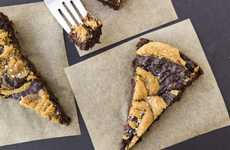 Nutty Vegan Brownies - These Peanut Butter Brownies are Made From Animal-Free Ingredients