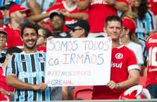Compassionate Soccer Campaigns - Sport Club Internacional's 'Side by Side' Reduces Sports Rivalry