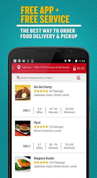 On-Demand Takeout Apps - The Seamless App Makes Finding Restaurants and Food Orders Easy