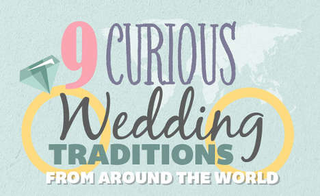 Unusual Nuptial Charts - This Infographic Lists Some Unusual Wedding Traditions From Other Cultures