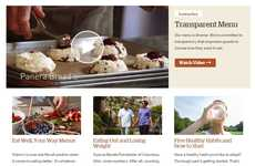 Transparent Restaurant Menus - Panera Bread's Transparent Menu Empowers Guests With Healthy Options