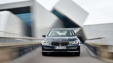 Carbon Fiber Cars - The New BMW 7 Series Features a Lightweight Construction