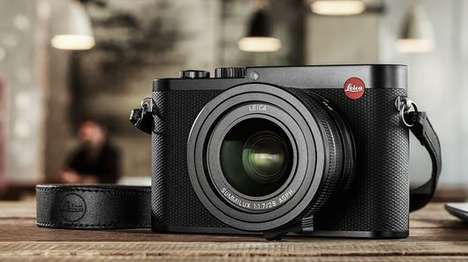 Full Frame Cameras - The Leica Q Camera Features a High-Resolution Electronic Viewfinder
