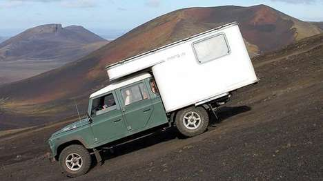 Rugged Concept Campers - The Marq Land Rover Defender is Versatile and Efficient