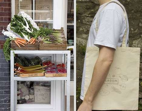 "Waste-Free Grocer Concepts - Lagom is Market Concept Based on Using ""Just the Right Amount"""