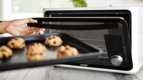 Food-Detecting Ovens - The June Intelligent Oven Can Figure Out How Best to Cook Your Meals