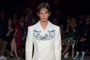 The Alexander McQueen Spring Menswear Line Channels Seaside Style