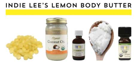 Homemade Body Moisturizers - This DIY Body Butter by Indie Lee Has a Refreshing Citrus Scent