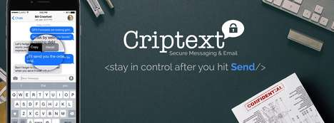 Email Retrieval Apps - The 'Criptext' App Will Help Users Un-Send Any Accidental Message