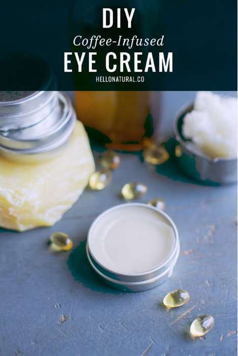 Caffeinated Eye Creams - This DIY Eye Cream Tutorial Features Organic Ingredients