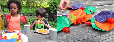Edible Food Paints - Noshi Encourages Children to Eat Their Veggies in a Fun and Healthy Way