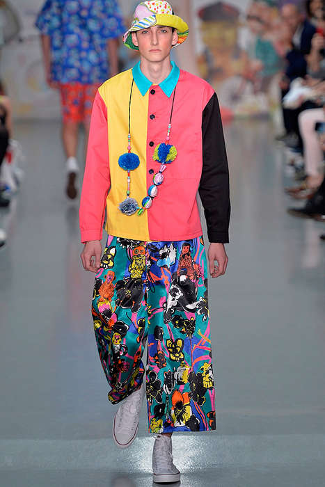 Colorful Kidcore Runways - The Latest Kit Neale Collection References Children's Fashions