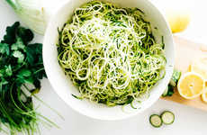 Zucchini Noodle Recipes - This Light Pasta Recipe Features Fresh Veggies and Spicy Shrimp