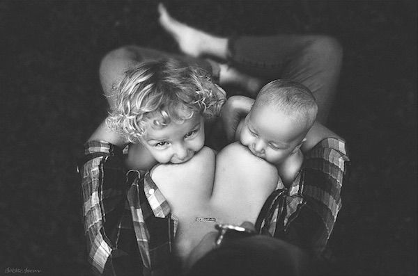 Ethereal Breastfeeding Portraits