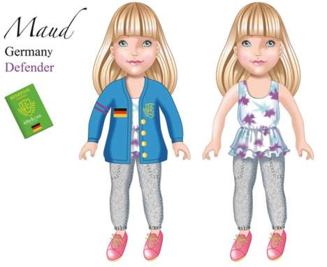 Diversity-Promoting Dolls - Elle&Cee World Girls is a Line of Racially Diverse Dolls to Educate Kids