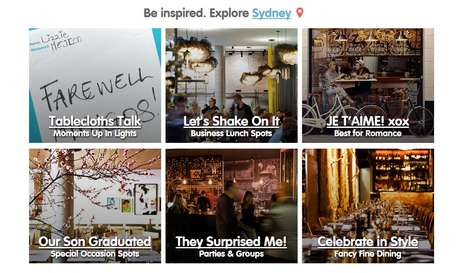 Tourist Reservation Websites - Dimmi Gives Travelers Access to the Best Restaurants in Australia