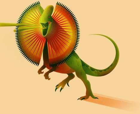 58 Playful Dinosaur Innovations