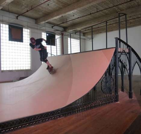 Gothic Half Pipes - Brandon Vickerd Puts an Artistic Spin on Skater Ramps