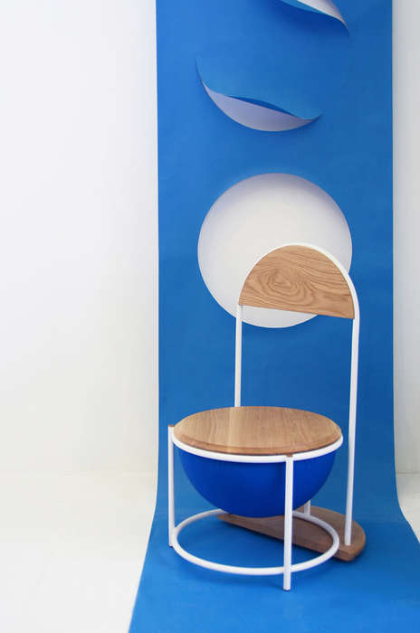 Modular Planetary Seating - Saturn by Sang A Choi Transforms from Chair to Stool to Side Table