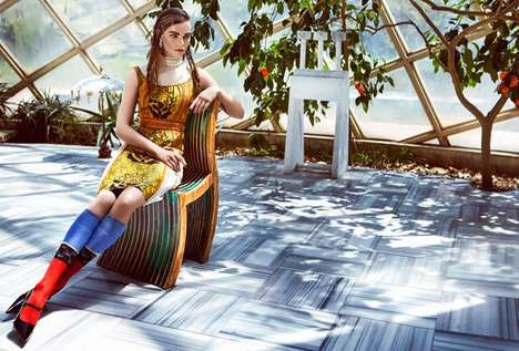 Bohemian Folk Fashion - Marie Claire Turkey's Latest Editorial Exclusive Doesn't Skip Out on Print