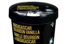 Enhanced Ice Cream Flavors - This Madagascar Bourbon Vanilla Ice Cream is a High-Quality Treat