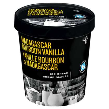 Enhanced Ice Cream Flavors - This Madagascar Bourbon Vanilla Ice Cream is a High-Quality Treat