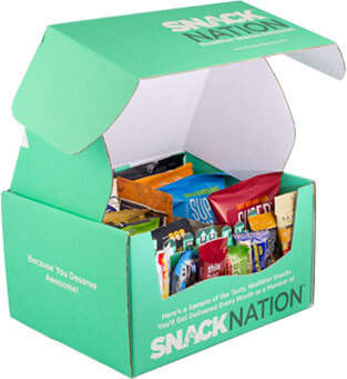 Productivity-Enhancing Food Platforms - The Snacknation Service Provides Healthy Edibles for Teams