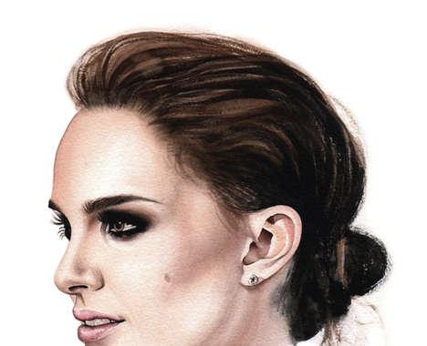 Celebrity Profile Portraits