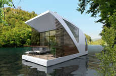 Luxe Floating Hotels - Serbia's Salt & Water Studio Transforms Catamarans Into Functional Rooms