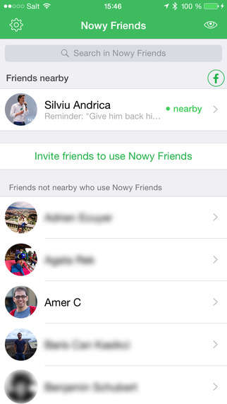 Social Radar Apps - The 'Nowy Friends' App Does Not Log Users' Location Data on Its Servers