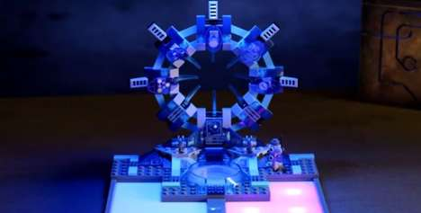 Digitized Building Block Games - Lego Dimensions Blurs the Lines Between Physical and Digital Gaming