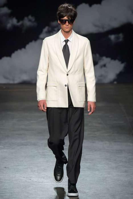 Vintage Rocker Collections - Tiger of Sweden's Spring Collection Brought The Rolling Stones to LCM