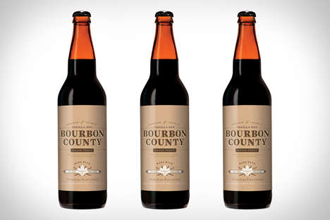 Madagascar Vanilla Craft Brews - The Goose Island Bourbon County Vanilla Rye Beer is Almost Gourmet
