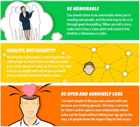 Expert Networking Guides - Business Insider's Infographic Offers Career-Helping Networking Advice