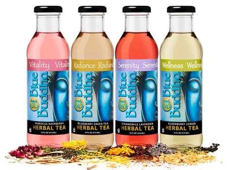 Ayurvedic Elderflower Drinks - Blue Buddha Beverages Offer a Range of Herb-Powered Beverages
