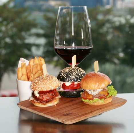 Alcoholic Burger Pairings - The Mandarin Oriental Singapore Serves Up Burgers and Burgundy
