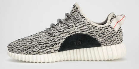 Low-Top Primeknit Kicks - Kanye West & Adidas are Launching the 'Yeezy Boost 350' Footwear Design