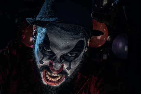 Corrupt Clown Photography - Fernando Brusa Captured Creepy Clowns in this Photo Shoot