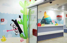 Childish Cartoon Murals