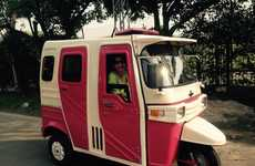 Female-Friendly Taxis - The 'Pink Rickshaw Project' Provides Safe Transportation to Pakistani Women