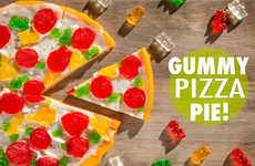 Fruity Pizza Treats - This Gummy Pizza From Vat 19 Features Ingredients with Unique Flavors
