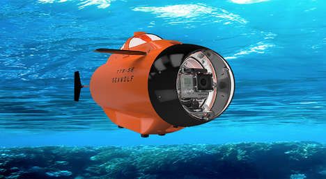 Autonomous Underwater Cameras - This Robotic Camera Helps Users Capture Life Under the Sea