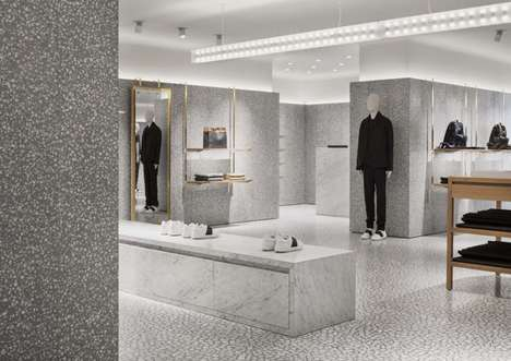 Grey Scale Luxury Flagships - The New Valentino Flagship in NYC is an Elegant Retail Experience