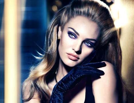 Smokey-Eyed Campaigns - Candice Swanepoel Wears Dramatic Makeup in the Latest Max Factor Ad