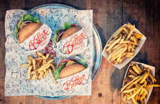 Anti-Fast Food Burger Branding - Better Burgers Aims to Be New Zealand's Answer to In-N-Out