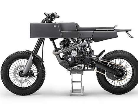 Boxy Industrial Motobikes