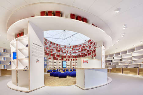 Tent-Inspired Shoe Shops - 'Camper Shoes' Created this Sustainable Teepee Pop-Up Shoe Shop